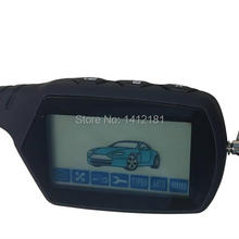 A91 2-way LCD Remote Control Keychain For Russian Anti-theft Vehicle Security Tw