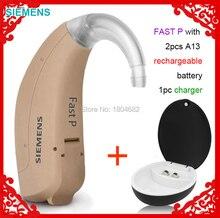 2020 prix le plus bas! SIEMENS touchant lamplificateur de prothèse auditive aides auditives touchant. Amplificateur sonore FAST P BTE oreille auditive