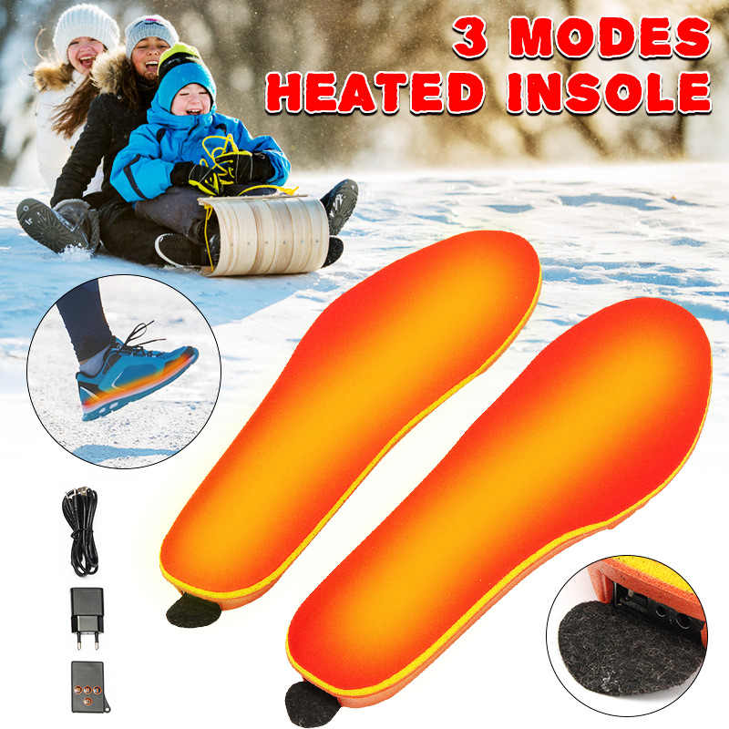 ... about 2019 New warm Electric heated Insoles soles For women men Shoes  boot Winter thick insole Feet Heater USB Foot Winter Warmer Pads on  Aliexpress.com ... 6505bc829538