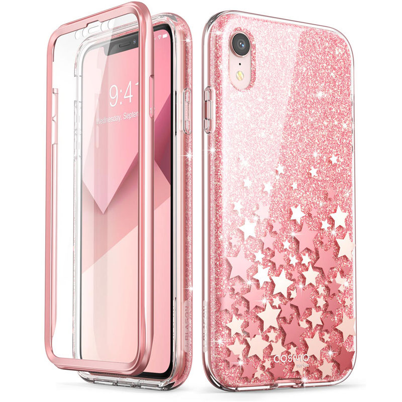 For iPhone Xr Case Clear Full Body Heavy Duty Protection