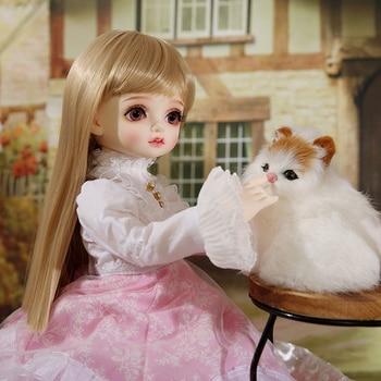 ROSENBJD Doll Bamti SD BJD Dolls 1/4 Body Model Girls High Quality Resin Ball Joint Doll Gifts For Birthday Or Xmas 2