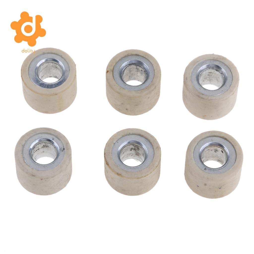 Racing Variator Slider Weights 9 Gram 18x14mm 125cc 150cc Gy6 Scooter
