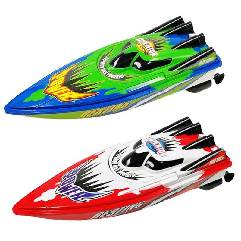 Four Way Remote Control Boat Racing Boats Waterproof Beautiful Earance Of Paint Exquisite Workmanship