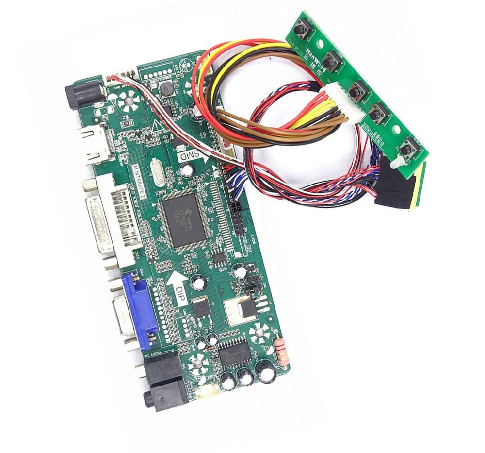 LED HDMI DVI VGA LCD DIY Aduio controller driver board for 15.6 40pin B156XTN02.2/3 1366X768 panel screen monitorLED HDMI DVI VGA LCD DIY Aduio controller driver board for 15.6 40pin B156XTN02.2/3 1366X768 panel screen monitor
