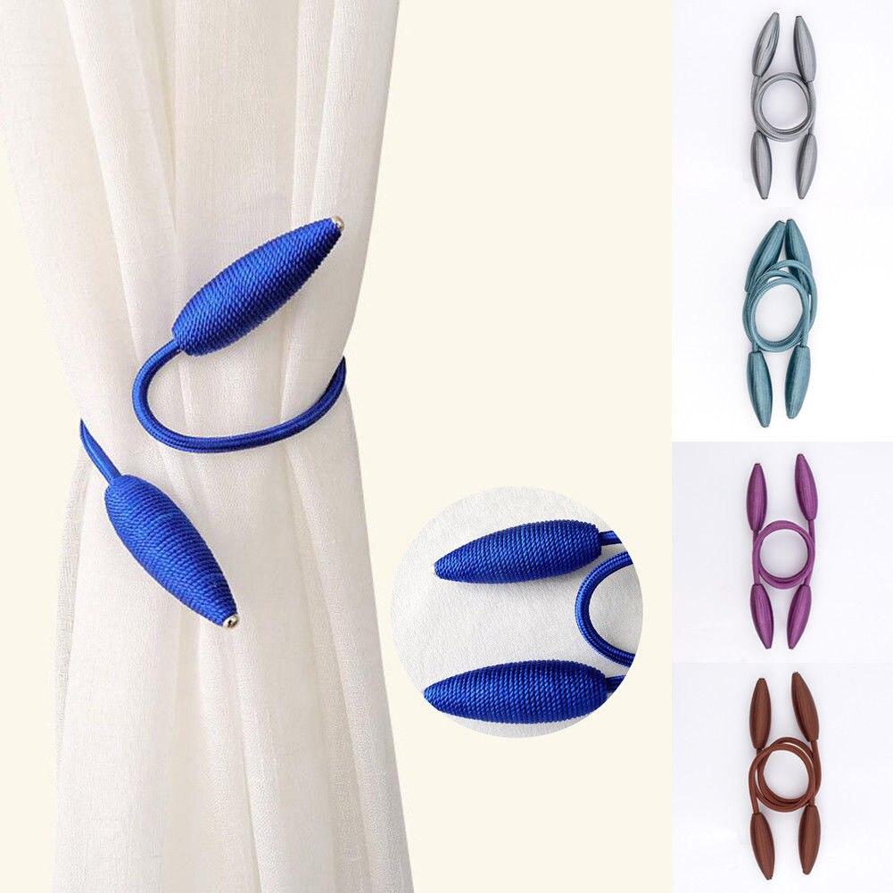 1 Stücke Magnetische Vorhang Raffhalter Kristall Krawatte Rücken Schnalle Clip Holdbacks Hause Krankheiten Zu Verhindern Und Zu Heilen
