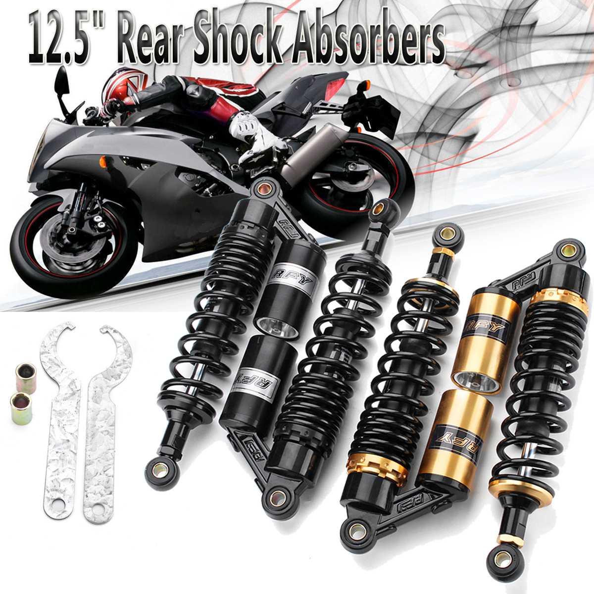 12,5 мм 320 двигатель цикл сзади Air амортизаторы Подвеска для Honda Yamaha Suzuki Скутер ATV Quad
