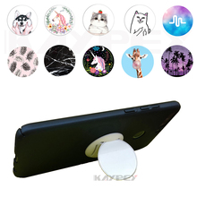 Marbles Unicorn Phone Holder Expanding Stand and Grip Mount for Smartph