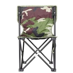 Image 1 - NHBR 미니 휴대용 접는 의자 접는 캠핑 의자 야외 접는 의자 바베큐 캠핑 낚시 여행 하이킹 정원