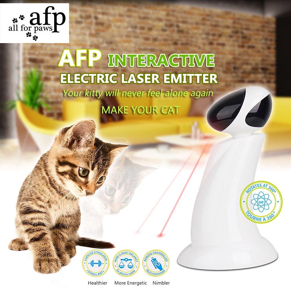 360 Degree Electric Laser Emitter Cat Scratch Laser Toy Laser Light Exercise Teaser Fun Exercise Pet