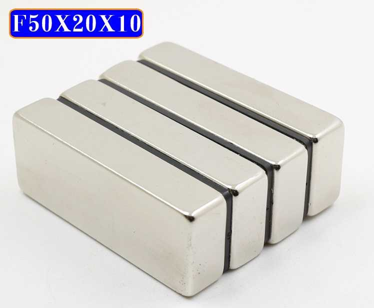 N50-50*10*4mm Super Strong Magnet Neodymium Wholesale Magnets