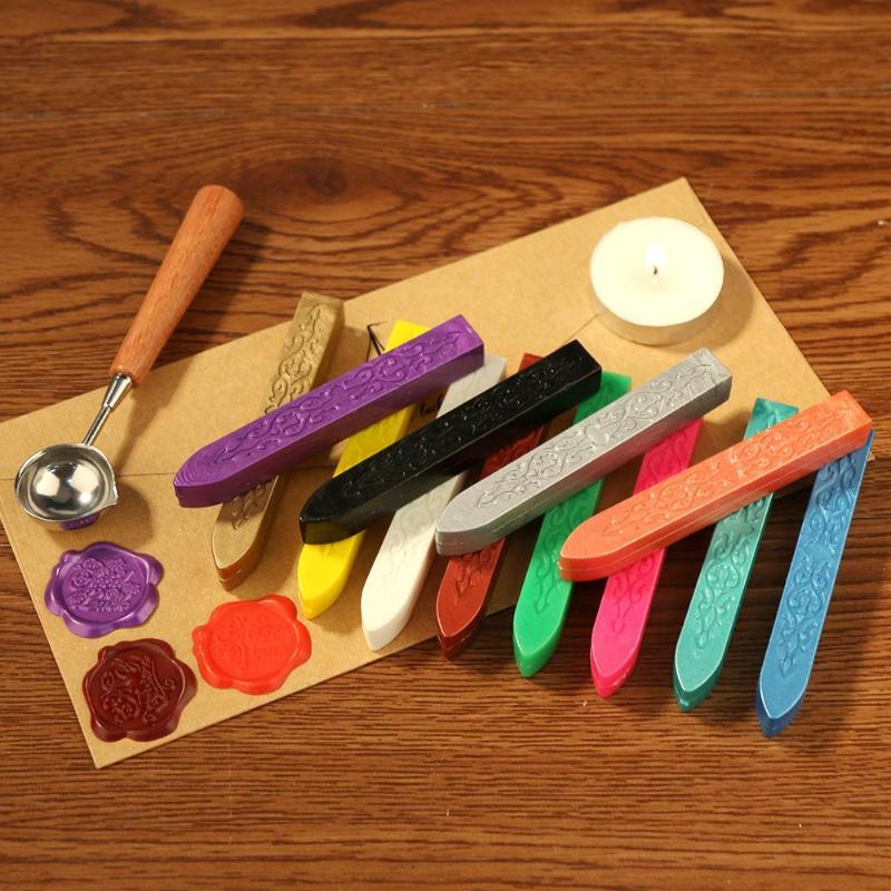 26 цветов DIY уплотнительные восковые полоски Выделенные восковые палки брендинг для рисования печать воск ручной работы DIY Инструменты для штамповки Штампики      АлиЭкспресс