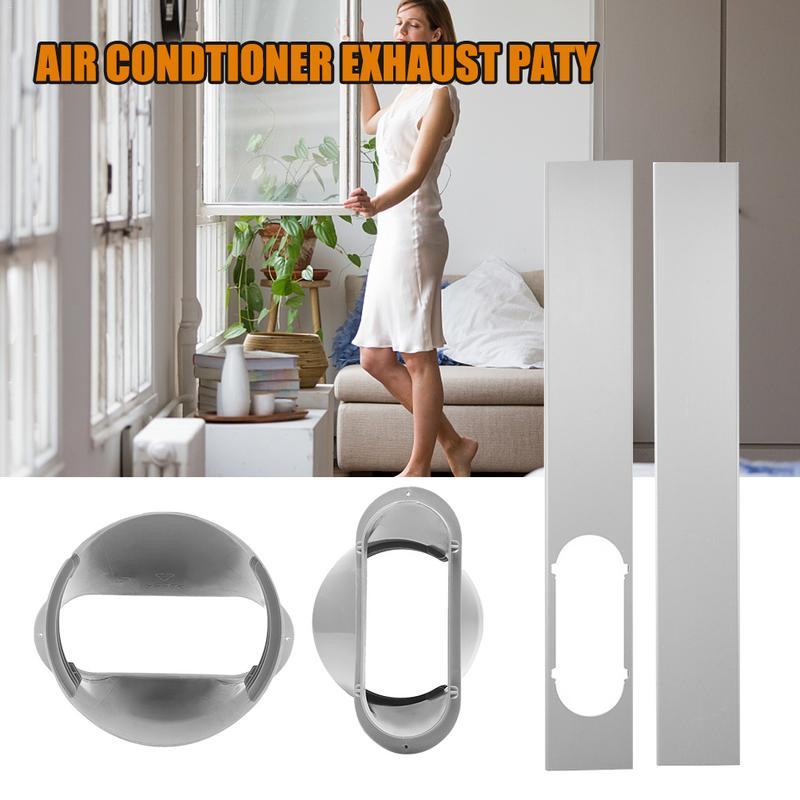 Window Slide Kit Window Adaptor For Portable Air Conditioner AU Mobile Air Conditioner Adjustable Window Sealing Tube Connector