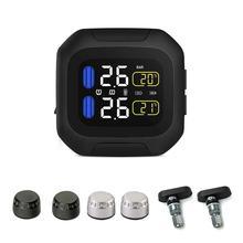 CAREUD M3 Motorcycle Tire Pressure Monitoring System Sun Protection LCD Display 2 External WI Sensor Motor Tyre Aotu Alarm цена 2017