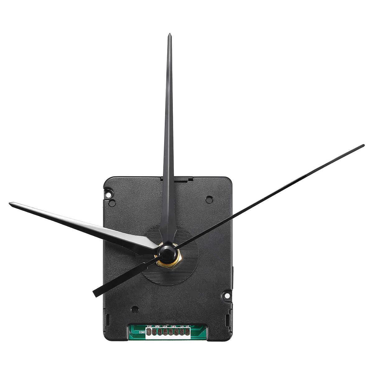 原子電波サイレント時計ムーブメント DIY キットドイツ DCF 信号ヨーロッパ HR9624 プラスチックとアルミ