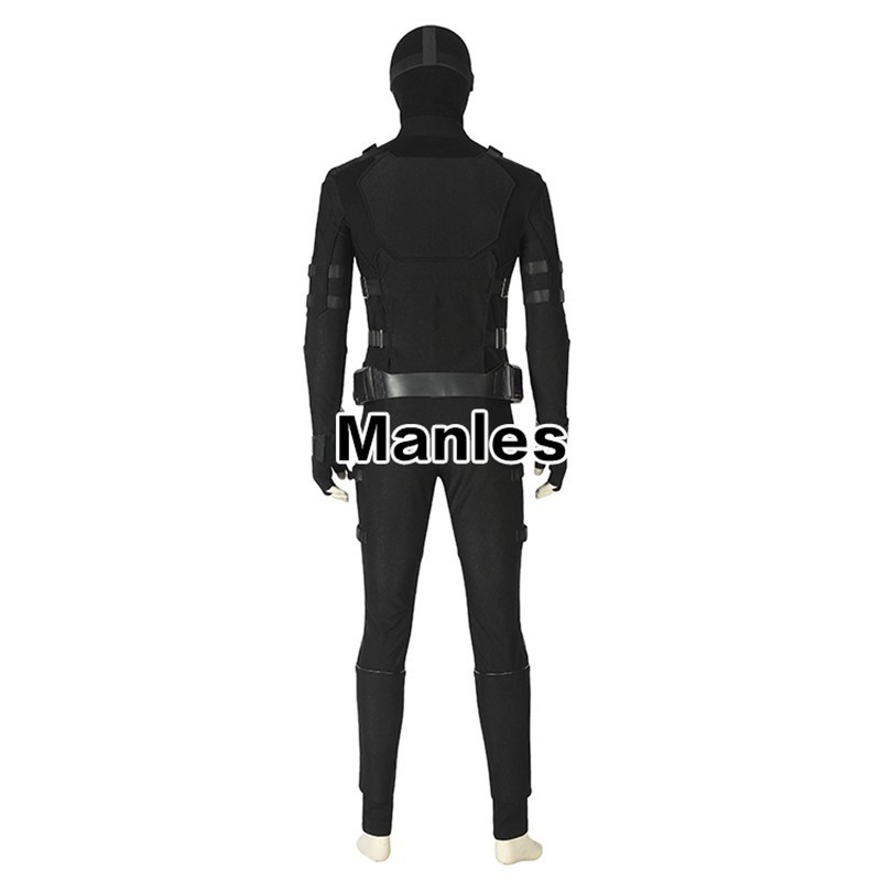 Spiderman Far From Home Stealth Suit Spider man Noir Cosplay Costume Superhero Outfit Black Halloween Adult Men Custom Made in Movie TV costumes from Novelty Special Use