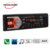 Autoradio 12V Car Audio,Car Radio Car Stereo Mp3 Player SD USB Drive 1 Din bluetooth,LED Screen radio cassette player
