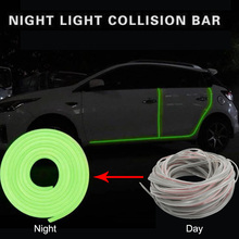 5m Auto Moulding Trim Strip Car Door Edge Rubbing Anti Collision Bumper Protection Sticker Styling Accessaries