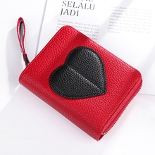 Wallet Ladies Short Zip Wallet Japanese And Korean Youth Women's Cross-Section Wallet Purse цена и фото