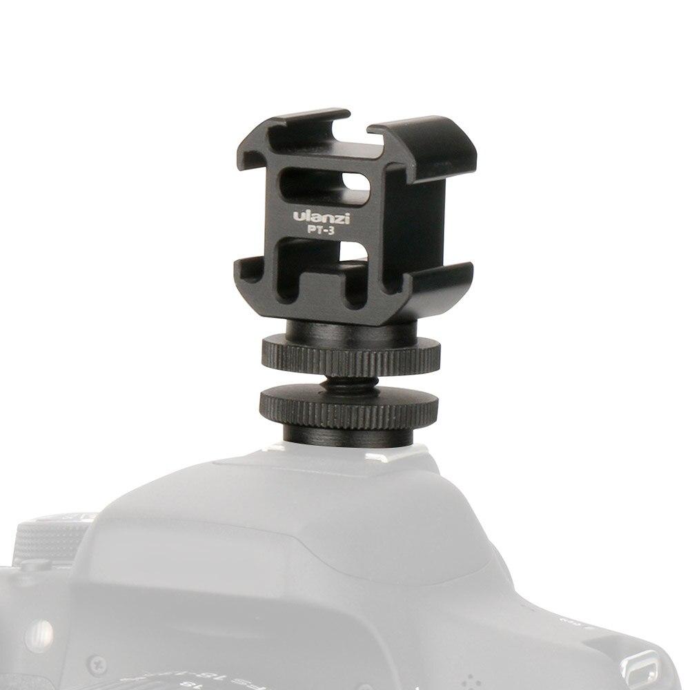 Ulanzi 3 Холодный башмак на камеру адаптер расширения порта для Canon Nikon Pentax DSLR камеры для микрофона монитор светодиодный светильник