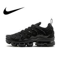 Nike Air Vapor Max Plus для мужчин's кроссовки дышащие, для активного отдыха и спорта спортивная обувь оригинальный 924453 004