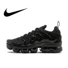 Кроссовки Nike Air Vapor Max Plus Для мужчин, кроссовки для бега, дышащие, для активного отдыха и спорта спортивная обувь оригинальный 924453-004