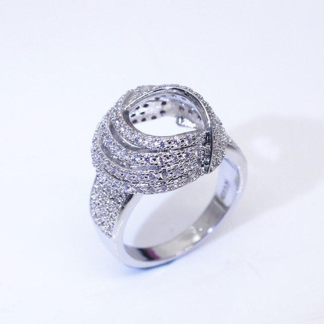 18K Gold Wrap Around Diamond Fashion Ring  1