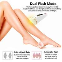 IPL Electric 500000 Painless Epilator IPL Permanent Freezing Hair Remover Shaving Epilator Face & Body Depilator