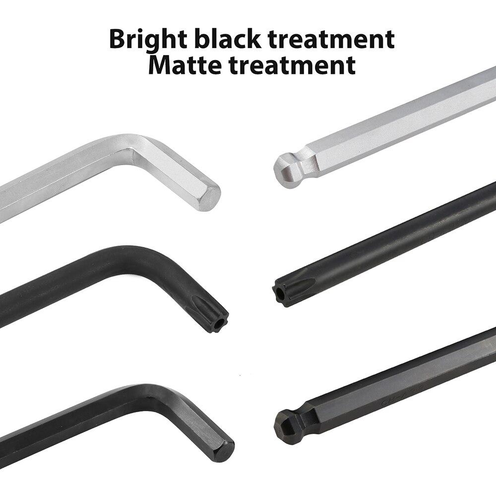 Image 4 - Meterk 36PCS Allen Wrench Set Hex Key Socket Head Screw Wrench Internal Hexagonal Spanner Inch/Metric/Star Repair Tool-in Wrench from Tools