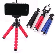 Mini Sponge Tripod For phone 360 Degree Lazy Octopus Holder Clip Action Camera Tripod