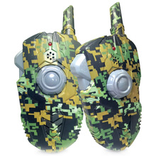 2pcs Military kid Walkie-talkie Electronic Toys High Quality Army Green Walkie Talkies For Children