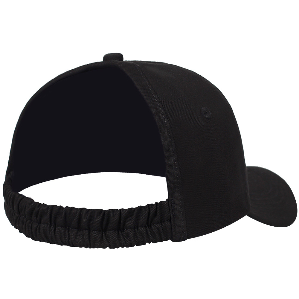 e530500e4 Backless Ponytail Hat for Women Natural Curly Hair Hat Baseball Cap Half  Empty Top Snapback Plain Cotton Visor Cap Sun Hats-in Women's Baseball Caps  from ...
