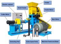 30 40KG/H pet feed pellet making machine