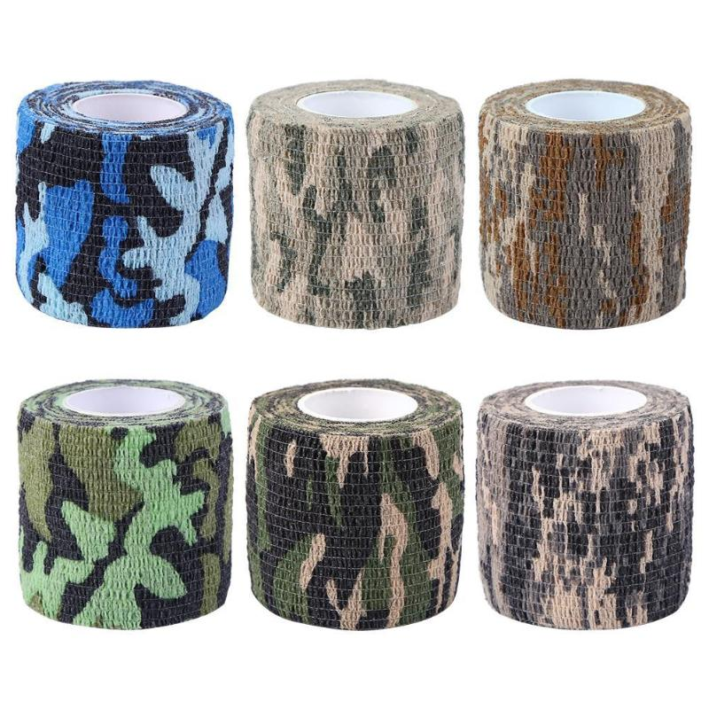 Camouflage Outdoor Stealth Hunting Riding Bicycle Cork Handlebar Tape Wrap Cycling Handle Adhesive Tape For Camera Bike Etc