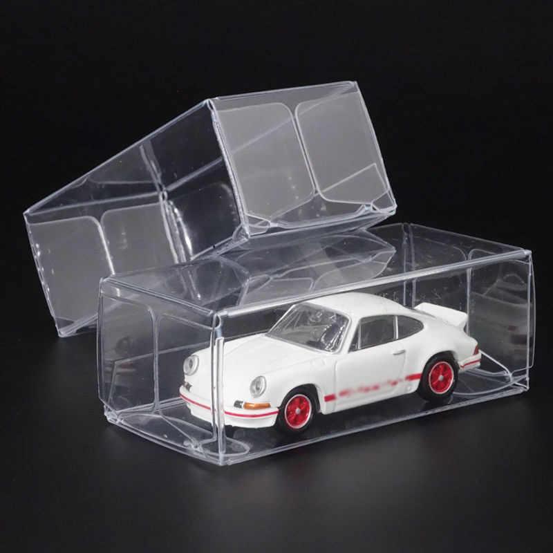 5/10/15/25 Pcs 1/64 Model Mobil Plastik Tampilan Kotak Kotak Korek Api Tomica