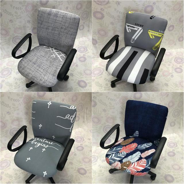 Best Discount 7b5aee Office Computer Chair Seat Cover Task Chair Cover Slipcover Elastic Stretchable Removable Computer Desk Covers Cicig Co
