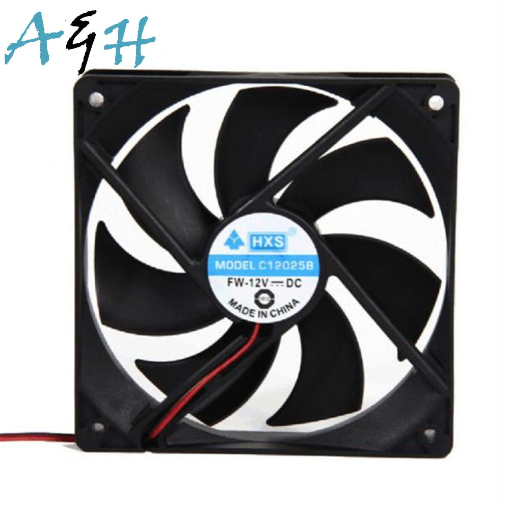 Cooling Big Drop CPU NEW video Cooler promotion 120MM 120x120mm 12V PC shipping Portable for Computer card Cooler Fan 12CM fan 2pcs car cob leds daytime running bright light drl waterproof fog lamp u shape
