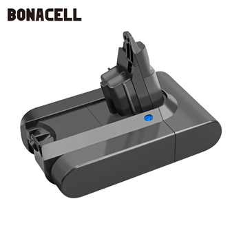 Bonacell 21.6V 4000mAh Li-ion Battery Replacement for Dyson Battery V6 DC61 DC62 DC72 DC58 DC59 DC72 DC74 Vacuum Cleaner L70 extension tube hose for vacuum cleaner parts for dyson dc34 dc44 dc58 dc59 dc62 dc74 v6