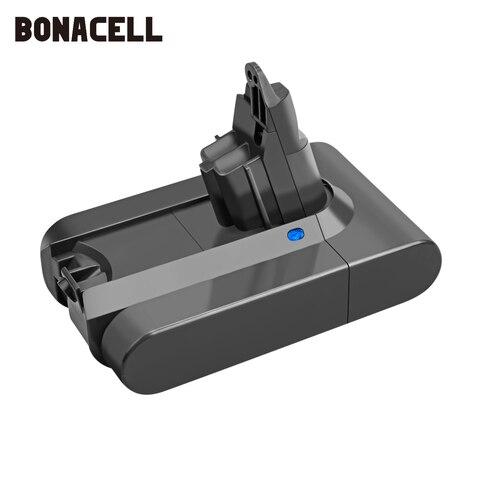 Li-ion para Dyson Aspirador de pó Bonacell Bateria Dc58 Dc59 Dc61 Dc62 Dc74 Sv09 Sv07 L30 Sv03 965874-02 2200mah 21.6v v6