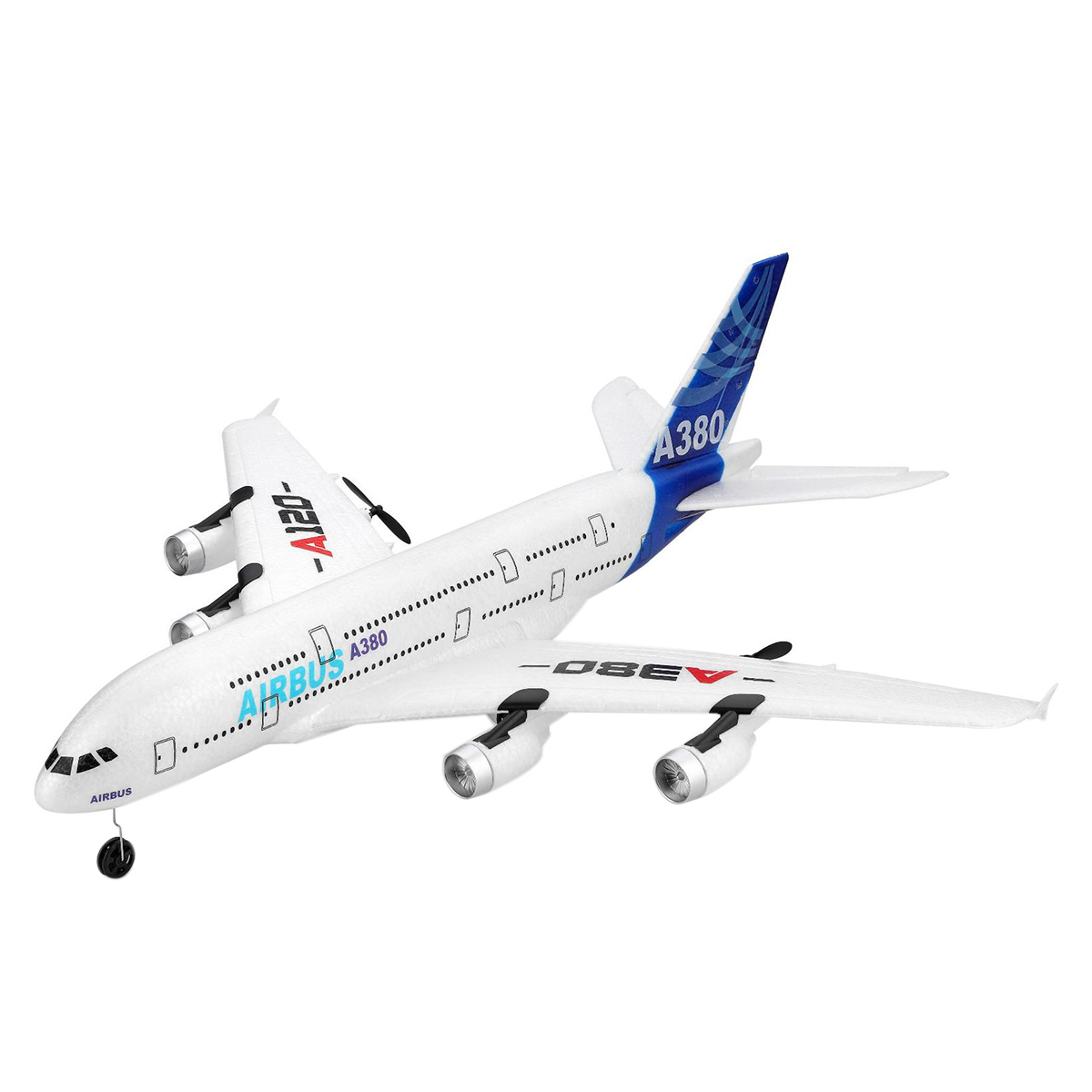 WLtoys new childrens remote control A120 Airliner Double motor strong propulsion remote control aircraft A380 three channel lWLtoys new childrens remote control A120 Airliner Double motor strong propulsion remote control aircraft A380 three channel l