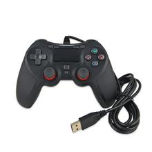 Portable PS4 Wired Controller USB Gamepad Controller With The Dual Vibration For Playstation 4 PS4 Slim PS4 Pro USB Plug