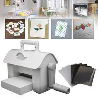 DIY Dies Cutting Embossing Machine Scrapbooking Dies Cutter Paper Card Die Cut Machine Home Embossing Die Tool White