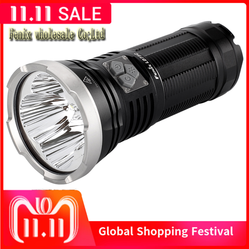 Fenix LD75C flashlight Cree XM L2 U2 LEDs and XM L color LED 4200Lumens rechargeable Flashlight