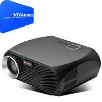 Vivibright GP100 плюс светодиодный проектор ЖК дисплей 3500 Ansi люмен HD 1280x800 пиксели 1080 P домашний кинотеатр