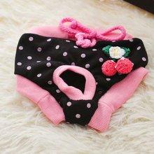 Физиологические штаны для собак, утки, вишни, клубники, домашних животных, физиологические штаны для собак, менструальные штаны