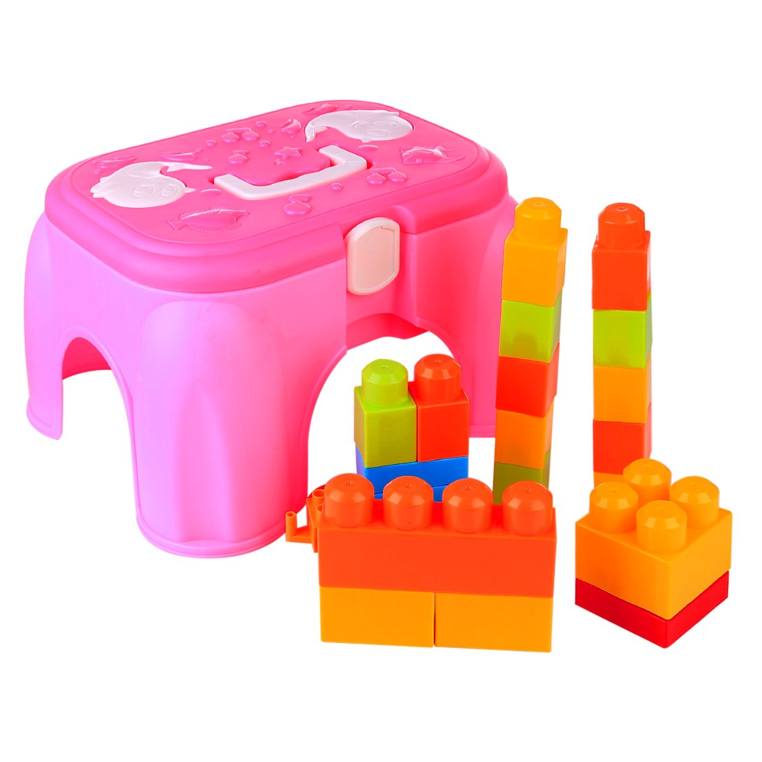 20Pcs Outdoor Beach Sand Toys Storage Chair Playset Summer Kids Beach Sand Toys Set For Baby Children - (Parts Random Color)