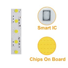 LED COB CHIP 50W White smart ic led beads for diy floodlight outdoor lamp 10pcs lot led lamp 220v cob chip overvoltage protection smart ic no driver 50w light beads for diy spotlight downlight