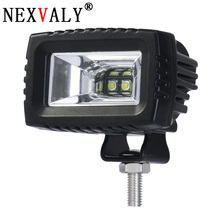 1 PCS 20W Flood Beam Motorcycle Car Led Work light bar 6000K 24V 12V IP67 for Offroad SUV  ATV 4WD 4X4 Driving Fog Lamp