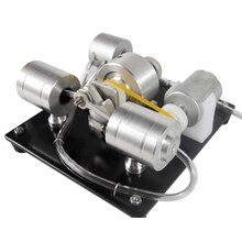 DIY アセンブリ蒸気エンジンモデルの科学実験キット発電機の早期教育玩具