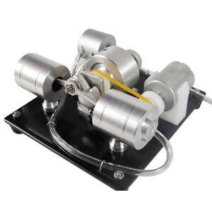 Image 1 - DIY הרכבה קיטור מנוע דגם מדע ניסוי ערכת חשמלי גנרטור מוקדם צעצועים חינוכיים לילדים