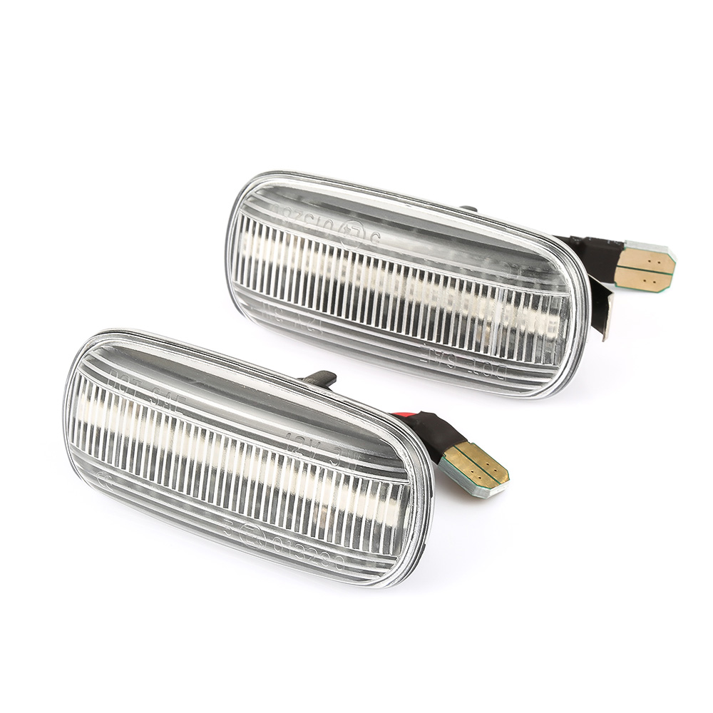 Image 4 - 2 pieces Led Dynamic Side Marker Turn Signal Light Sequential Blinker Light For Audi A3 S3 8P A4 S4 RS4 B6 B7 B8 A6 S6 RS6 C5 C7-in Signal Lamp from Automobiles & Motorcycles